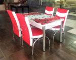 Кухненски комплект 163 (с 4 стола)