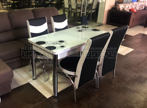 Кухненски комплект 95 (с 4 стола)