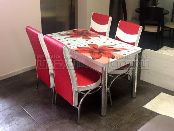 Кухненски комплект 287 (с 4 стола)