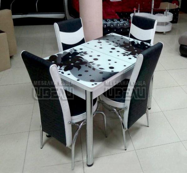 Кухненски комплект 119 (с 4 стола)