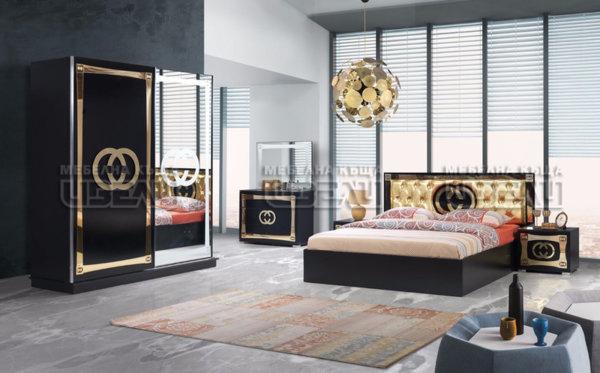 Спален комплект G&G черно