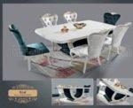 Крал - маса + 6 стола