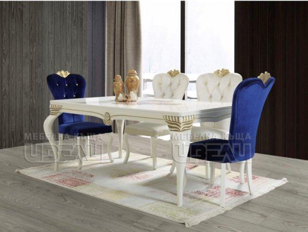 Сарай - маса + 6 стола