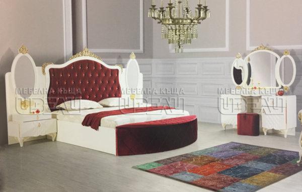 Спален комплект Оскар (червен)