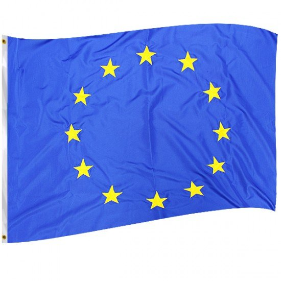 Флаг на EC  - печатан