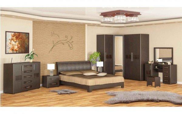 Модули спалня Токио - венге
