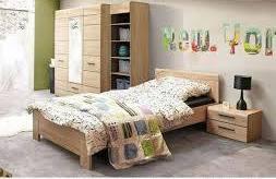 Легло 90/200 с подматрачна рамка Соло - дъб сонома
