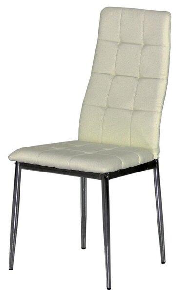 Трапезен стол AM-A-310 бежова кожа