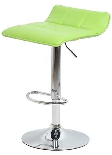 Бар стол Калипсо -5 кожа -зелена