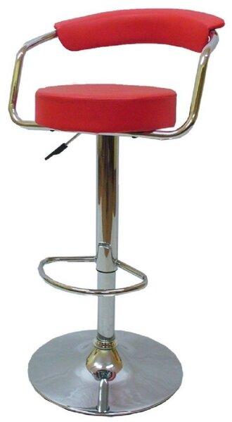 Бар стол Калипсо -7 червен