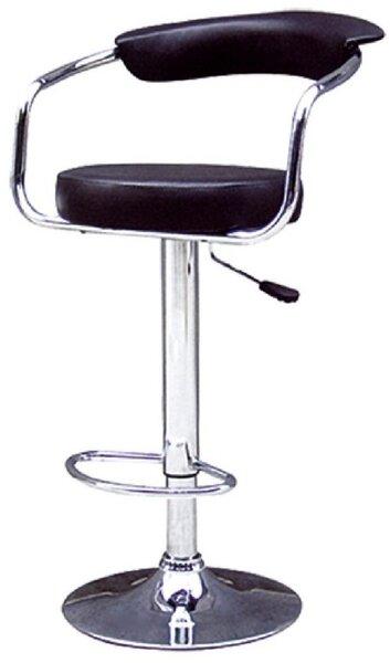 Бар стол Калипсо -7 черен