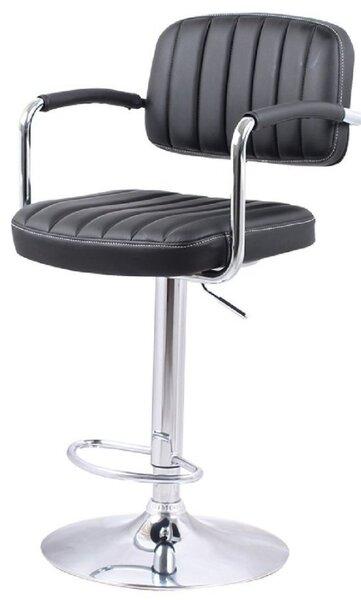 Бар стол Калипсо-13 кожа-черна