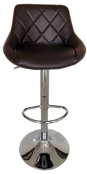 Бар стол Калипсо-16 кожа-кафява