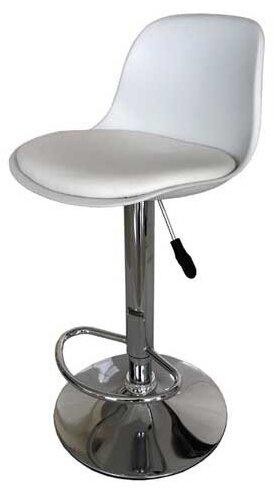 Бар стол Калипсо-18-бял