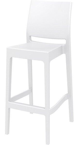 Бар стол Мая бял