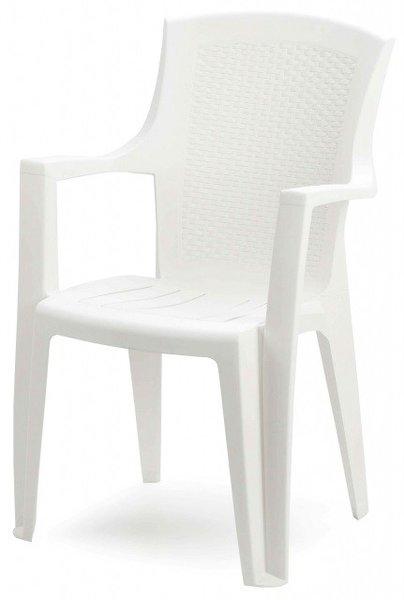 Пластмасов стол Еден бял