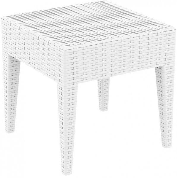 Пластмасова маса Маями 45/45/45h бяла