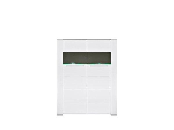 Двойна витрина с плавно затваряне и LED осветление Dinaro REG2W/13/10