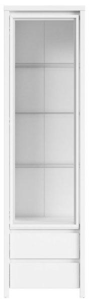Витринен шкаф KASPIAN REG1W2S бяла