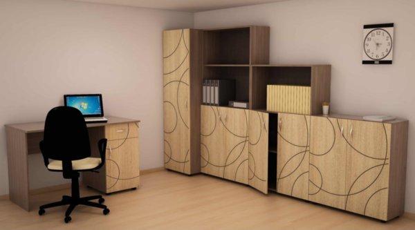 Модулна система за офис обзавеждане Компакт
