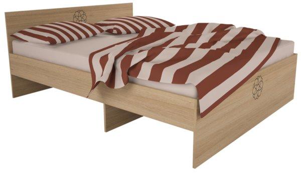 Легло за матрак 160/200 КАРМЕЛА пясъчен бук