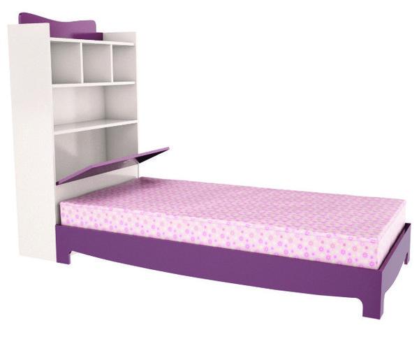 Легло за матрак 90/190 с ракла и надстройка ЯНА