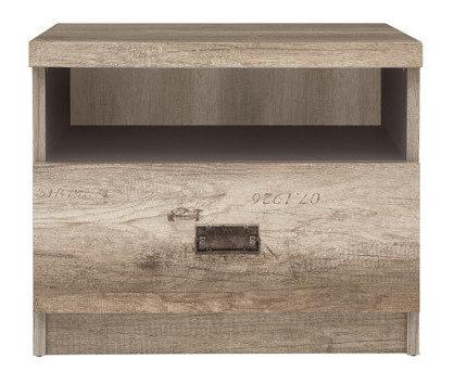Нощно шкафче с 1 чекмедже Malcolm KOM1S