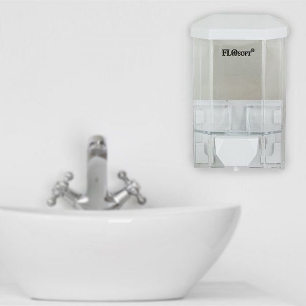 Правоъгълен дозатор за течен сапун