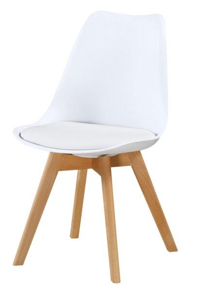 Трапезен стол К277 / Бяло