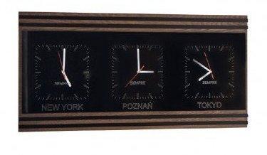 Троен часовник SEMPRE