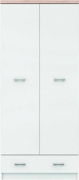 Двукрилен гардероб TOP MIX SZF 2D1S_80