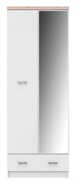 Двукрилен гардероб TOP MIX SZF 2D1S_60