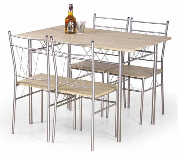 Трапезен комплект FAUST маса + 4 стола