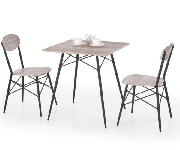 Трапезен комплект KABIR маса + 2 стола