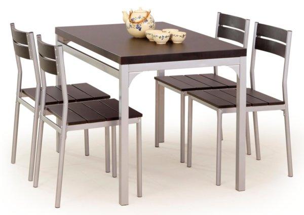 Трапезен комплект MALCOLM маса + 4 стола