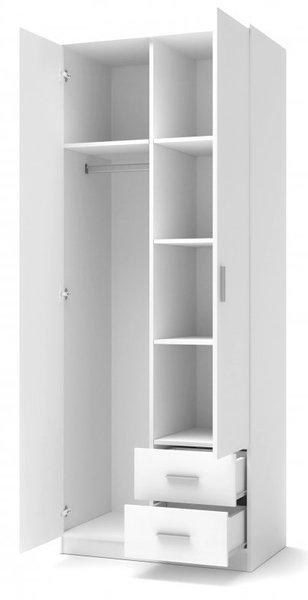 Двукрилен гардероб LIMA S-2