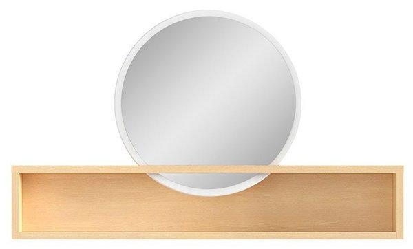 Огледало с етажерка PORI NAD
