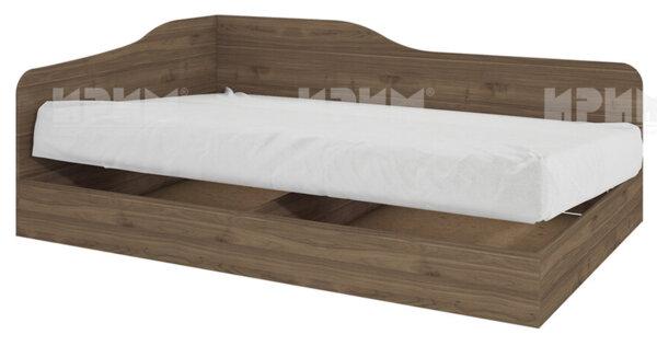 Легло City 2009 120х190 см. с ВКЛЮЧЕН МАТРАК, ъглова табла и повдигащ механизъм