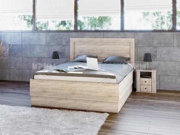 Легло City 7031 с включен матрак, повдигащ механизъм и 2 нощни шкафчета