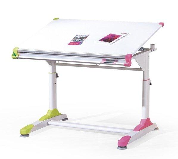 Детско бюро с повдигащ се плот и регулиране на височината Collorido
