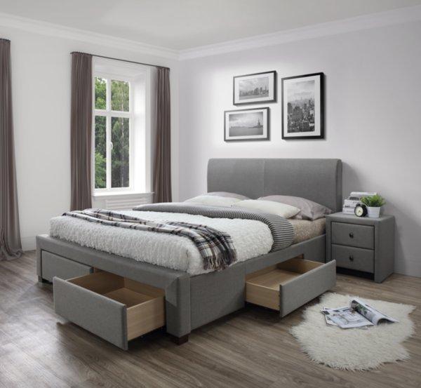 Тапицирано легло Modena 160/200