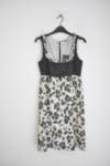 Дамска рокля с нежни къдрици (второ качество)
