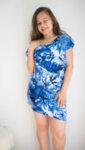 Дамска рокля/туника с паднало рамо