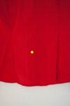 Дамска риза с яка от ефектни набори (второ качество)