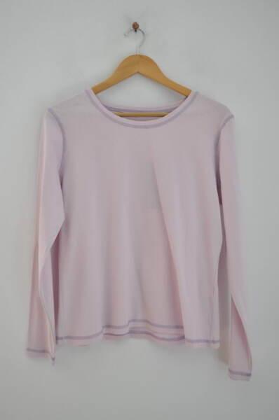 Дамска блуза в бледолилав цвят