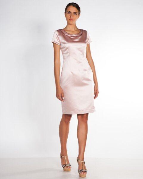 Сатенена дамска рокля - Formal (второ качество)