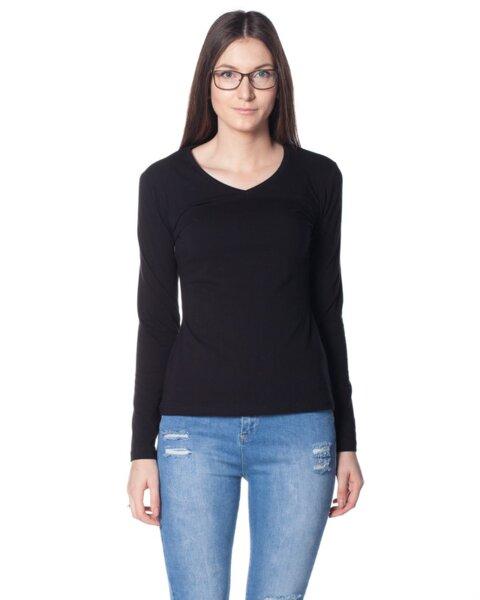 Дамска блуза от пениран памук (второ качество)