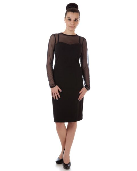 Дамска рокля с тюл (второ качество)