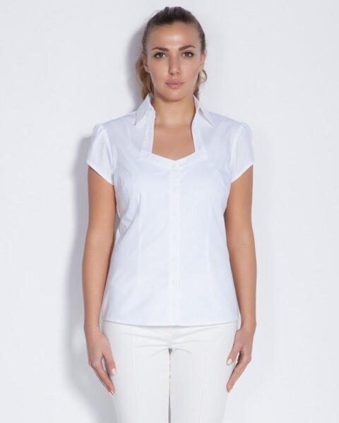 Бяла дамска риза (второ качество)