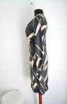 Дамска рокля с абстрактна шарка (второ качество)